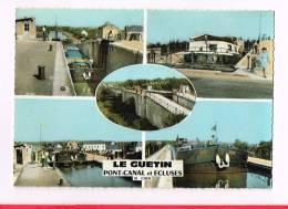 LE GUETIN ( Cher )  Vues... Multi-Vues...Pont-Canal Et Ecluses - Autres Communes