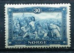 Norvège - 1930 - Mort Du Roi Olaf - Neuf - Trace De Charnière - Histoire