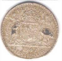 Australia 1947 Florin - - Monnaie Pré-décimale (1910-1965)