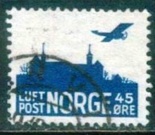 Norwegen  1937  Burg Askershus  (1 Gest. (used) Kpl. )  Mi: A136 (0,50 EUR) - Norvège