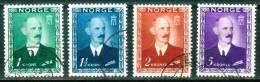 Norwegen  1946  Freimarken - König Haakon VII  (4 Gest. (used) Kpl. )  Mi: 315-18 (1,00 EUR) - Oblitérés