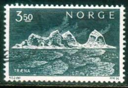 Norwegen  1969  Freimarke - Traena-Insel  (1 Gest. (used))  Mi: 587 (0,20 EUR) - Norvège