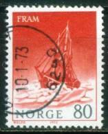 Norwegen  1972  Polarschiffe - Fram  (1 Gest. (used))  Mi: 650 (0,50 EUR) - Norvège