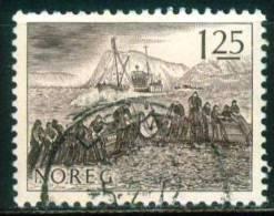 Norwegen  1977  Fischfang   (1 Gest. (used))  Mi: 751 (0,40 EUR) - Norvège