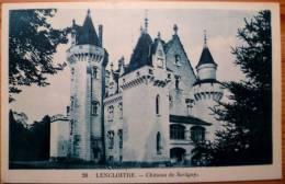 86 : Lencloitre - Château De Savigny - Lencloitre
