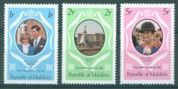 MALDIVES - 1981 - MNH/*** LUXE -  WEDDING DIANA CHARLES  - Lot 7209 - Maldives (1965-...)