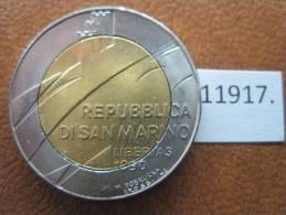 San Marino 500 Liras 1990 , Bimetalica - San Marino