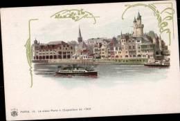 CARTE ILLUSTREE - LE VIEUX PARIS A L´EXPOSITION DE 1900 - Illustrateurs & Photographes