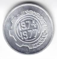 @Y@   Algerije  UNC     5  1974/1977   C88) - Algérie