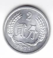 @Y@     China  2 Fen   UNC  1977 C85) - Chine