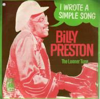 "* 7"" *  BILLY PRESTON - I WROTE A SIMPLE SONG (Holland EX-!!!) - Soul - R&B"