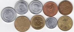@Y@    Lot Wereldmunten 5 - Monnaies & Billets