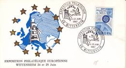 LETTRE THEMATIQUE MINES  CAD 68 WITTENHEIM 24-25 JUIN 1967- - Marcofilia (sobres)