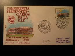 SPAIN Torremolinos Malaga 1973 UIT Telephone Phone Telefon Telefono Telegraph Telegraphe Telegram Telegramme Radio - Telecom