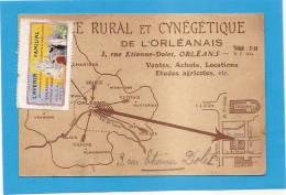 D45 - ORLEANS - ... RURAL ET CYNEGETIQUE DE L´ORLEANNAIS-VENTES ACHATS LOCATIONS ETUDES AGRICOLE - état Voir Descriptif - Orleans
