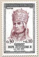 Francia - 1964 - Usato/used - Papa Silvestro II - Mi N. 1479 - France