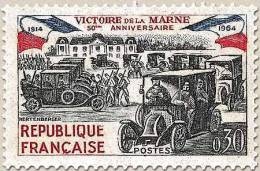 Francia - 1964 - Usato/used - Vittoria Sulla Marna - Mi N. 1489 - France