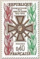 Francia - 1965 - Usato/used - Croce Di Guerra - Mi N. 1511 - France