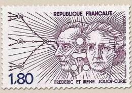 Francia - 1982 - Usato/used - Curie - Mi N. 2347 - Usati