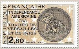 Francia - 1983 - Usato/used - Indipendenza Americana - Mi N. 2409 - Usati