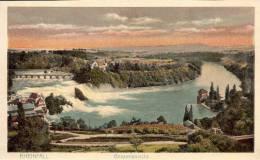 AK Schaffhausen Ca. 1920 (?) Rheinfall Gesamtansicht - SH Schaffhouse