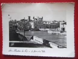 17 - ILE DE RE - ST MARTIN DE RE - LE PORT DE VILLE - + Lire Le Texte Sur La Région... - Ile De Ré