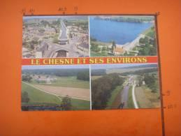 68) Le Chesne Et Ses Environs :lac De Bairon,maison Rouge,canal Des Ardennes  : Multivues - France