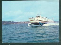 """Cpsm Gf -  Hydroglisseur """"condor"""" Le 1er à Faire Le Passage Entre Guernesey Et Jersey  - Lag38 - Ferries"""