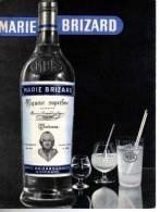 "CARTONNETTE PUBLICITE "" MARIE BRIZARD  "" - Advertising"