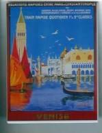MAGNET - Train Rapide Quotidien 1er Et 2eme Classe; Entre Paris Et Constantinople; Venise - Transport
