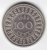 @Y@  Suriname 100  Ct  1989    UNC  (C139) - Surinam 1975 - ...