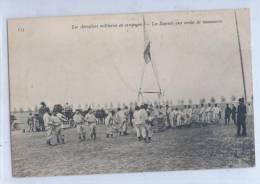 135. Les AEROSTIERS MILITAIRES En CAMPAGNE - Les SAPEURS Aux CORDES De MANOEUVRES - Zeppeline