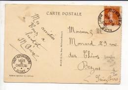 """1932 - Cachet à Date Horoplan Type A 5  """" Munster """" Dép 68 Sur Semeuse 25 Cts - Marcophilie (Lettres)"""