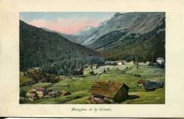 N°28088 -cpa Morgins Les Bains -et Le Géant- - VS Valais