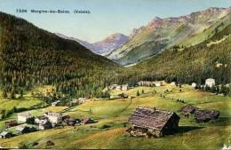 N°28089 -cpa Morgins Les Bains - VS Valais