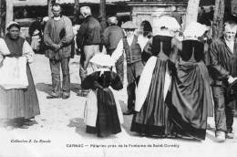 CARNAC (56) Pelerins à La Fontaine De Saint Cornely Belle Animation - Carnac