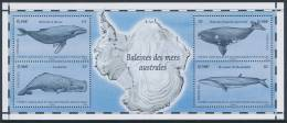 TAAF, 2011 Whales Minisheet* - Blocs-feuillets