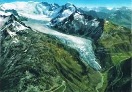 RHONEGLETSCHER - GLACIER DU RHÔNE - RHONE GLACIER - Furkapass 2431m Mit Galenstock Und Furkahörner - VS Valais