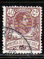 Rio De Oro  1909 Ed 49 Usado (el De La Foto) - Rio De Oro