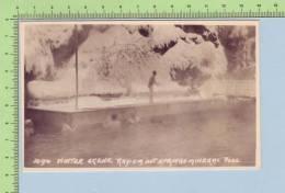 Canada BC ( Photo Animée, Piscine En Hiver,Source D'eau Chaude, Radium Colombie Britanique) Post Card Carte Postale - Colombie Britannique