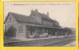 62 BULLY-GRENAY La Gare Vu Intérieure - Frankrijk