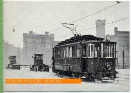 Strassenbahn Um 1950 /1960 Verlag: Bohmann-Verlag, A-1010 Wien, Postkarte, - Strassenbahnen