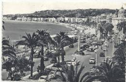 NICE...4...PROMENADE DES ANGLAIS....1957.... - Parcs Et Jardins