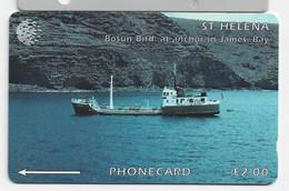 St Helena Isl. - Bosum Bird, CN : 5CSHD, 2000ex, 1995, Mint - St. Helena Island