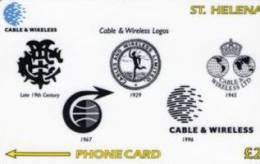 St Helena Isl. - C&W Logo, CN : 327CSHD, 1200ex, 1999, Mint - Isla Santa Helena