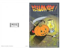 HALLOWEEN - Chauve Souris Citrouille Menu Soupe De Potiron Lanterne Faux Chapeau De Sorcière - Halloween