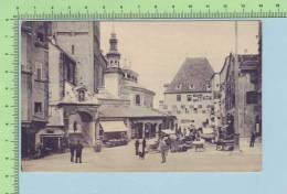 1907  ( Hall In Tirol Marktplatz Animated ) Post Card Carte Postale - Autriche