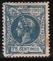 ELOBEY   1905 Ed 28 Usado -( El De La Foto) - Elobey, Annobon & Corisco