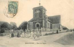 10 BREVONNES PLACE DE L'EGLISE - Autres Communes