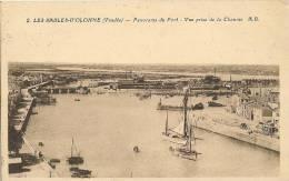CPA-1930-85-LES SABLES D OLONNE-PANORAMA Du PORT VUE De La CHAUME-TBE - Sables D'Olonne
